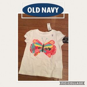 Old Navy little girls shirts 2 shirts for $10.
